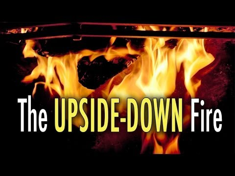 The Upside Down Fire (Best Fire Technique)