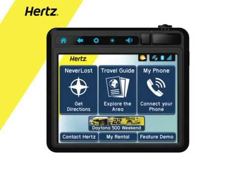 Thumbnail: Hertz NeverLost - TABLET+OVERVIEW