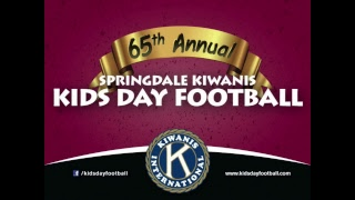 65th Annual Springdale Kiwanis Kids Day Football | 3rd & 4th | Red vs. White