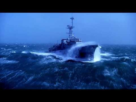 Warship vs Big Waves-1