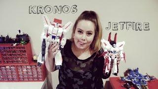 Transformers Generations Leader Jetfire vs Kronos   Klutter #17