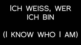 Oomph! - Ich bin Du Lyrics with English Translation