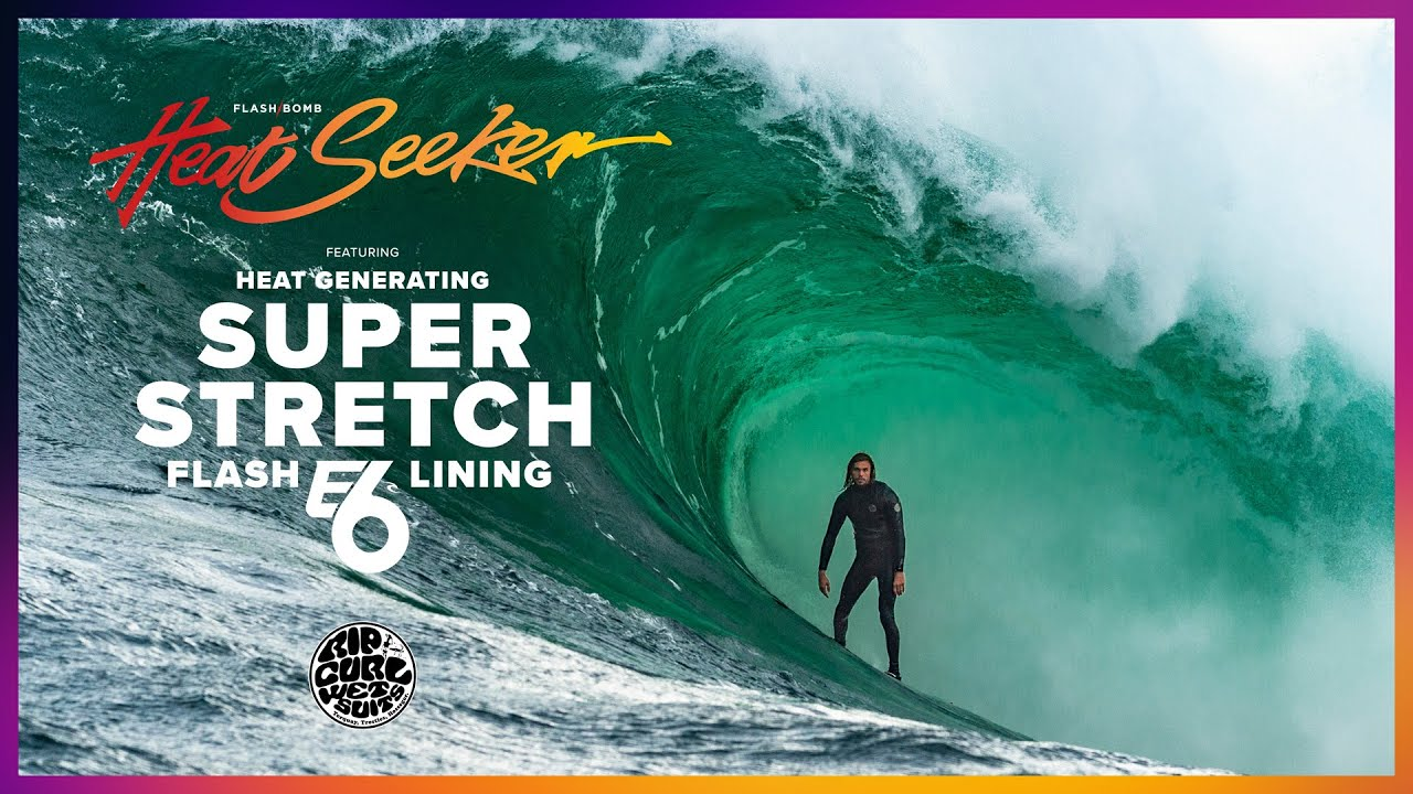 Kipp Caddy Takes On Shippies In The New Flashbomb Heat Seeker E6 | Rip Curl Wetsuits