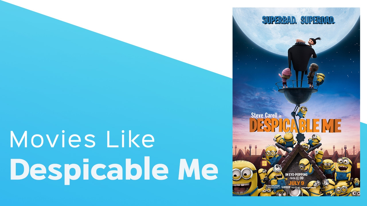 Download Top 5 Movies like Despicable Me - itcher playlist