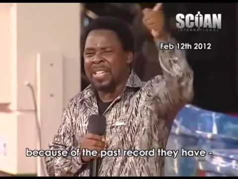 WORLD PROPHECY 2015 Shocking T B Joshua PROPHECY 2015 About ZAMBIA Football Game