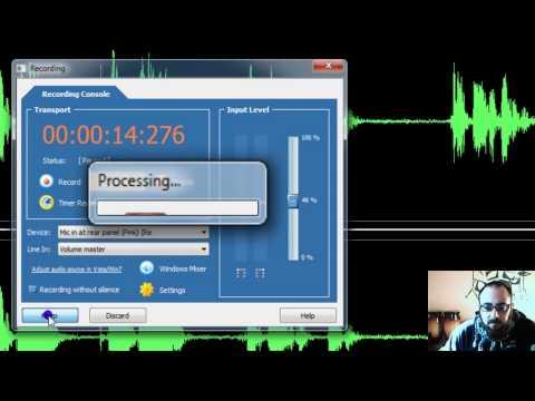 Tagliare mp3, modificare file audio e aggiungere effetti - Tutorial FreeAudioEditor