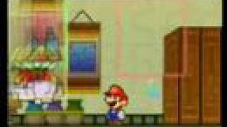 Super Paper Mario Game Review  (Wii)