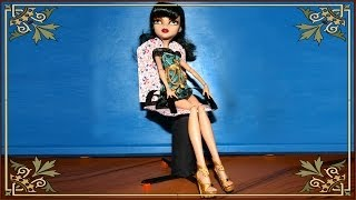 как сделать кресло для куклы из бумаги