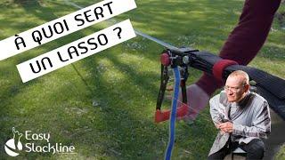 Lasso slackline