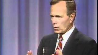 George H.W. Bush Campaign Ad - The Mission - 1000 Points of Light