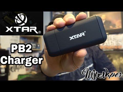 XTAR PB2 Portable 18650 Charger & Power Bank - Mike Vapes