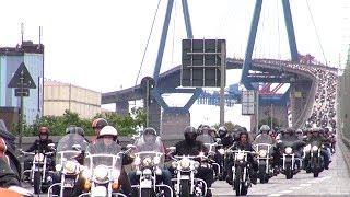 Harley Days Parade Hamburg 2017 / Köhlbrandbrücke