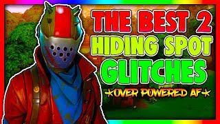THE 2 BEST WORKING FORTNITE HIDING SPOT GLITCHES | BEST SECRET FORTNITE SPOTS 2018