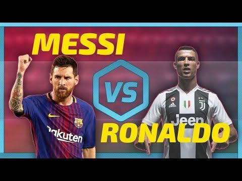 Ronaldo Vs Messi All Skills