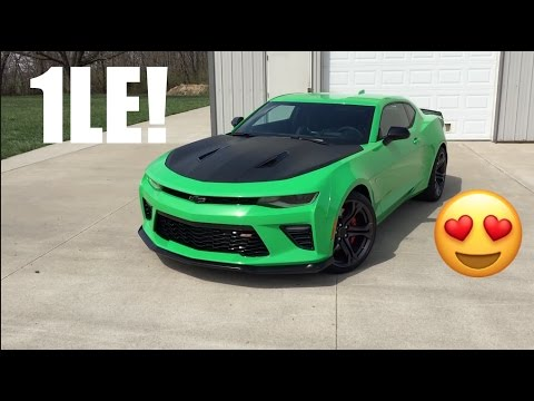 2017 Krypton Green Camaro Ss 1le Walk Around Overview Pretty Cool