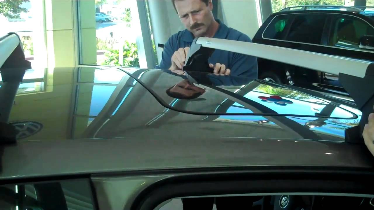 Volkswagen roof rack install by LAcarGUY parts team - YouTube