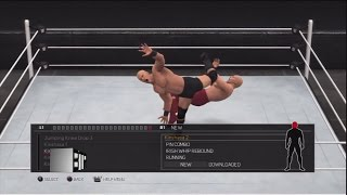 WWE 2K17 All New Moves Including DLC PS3/360