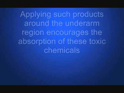 Aluminum In Deodorant Products