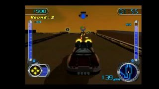 Hot Wheels Velocity X: Maximum Justice (PS2) - Bay Street Race