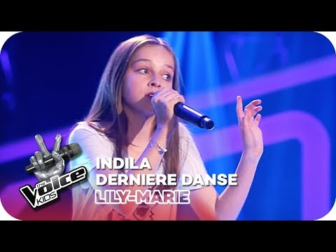 Indila - Dernière Danse (Lilly-Marie) | Blind Auditions | The Voice Kids 2018 | SAT.1