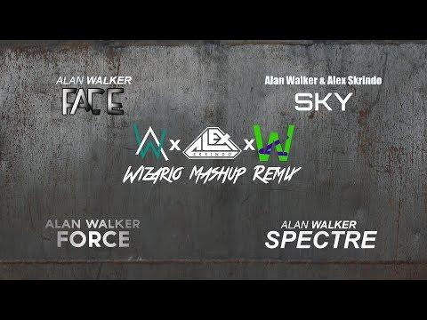 Alan Walker & Alex Skrindo - Fading Forcespectres in the Sky (Wizario Mashup Remix)