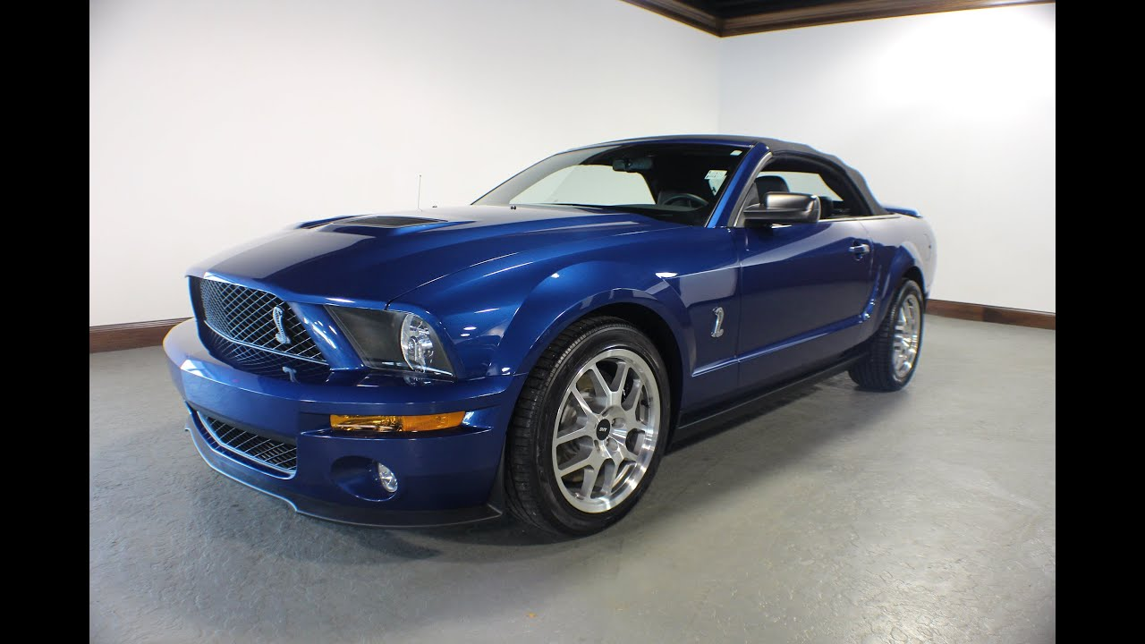2009 ford mustang shelby gt500 for sale in canton ohio jeff 39 s motorcars youtube. Black Bedroom Furniture Sets. Home Design Ideas