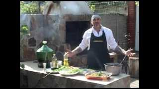 Мужская кухня. Овощи на гриле.
