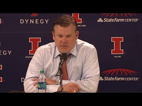 Brad Underwood Postgame Press Conference vs. Maryland 12/3/17