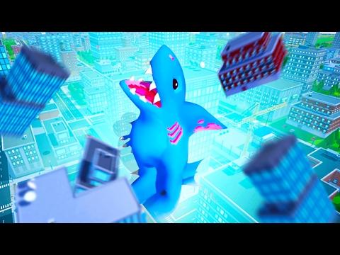 DINO SHARK CITY DESTRUCTION! (Omegalodon)
