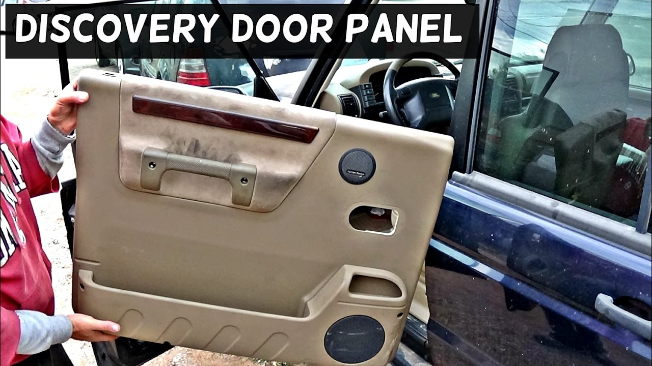 Land Rover Discovery Front Door Panel Removal 1998 1999