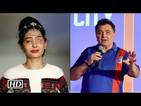 Rishi Kapoor's COMMENT On Acid Attack Survivor Reshma Qureshi
