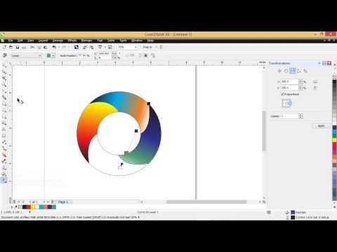 Cara membuat logo 3d dengan cepat menggunakan coreldraw..