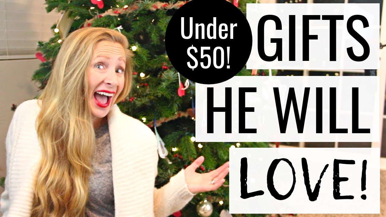 The Best Gift Guide For Guys Gift Ideas For Him Under 50 Youtube