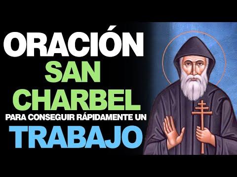 🙏 Oración de San Charbel para CONSEGUIR TRABAJO URGENTE 💼