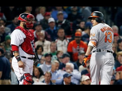 Manny Machado VS Boston