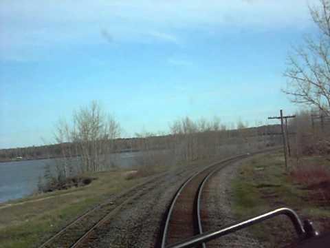 Cn 107 At Longlac Ontario Youtube