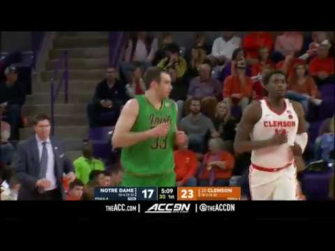 Notre Dame vs Clemson College Basketball Condensed Game 2018