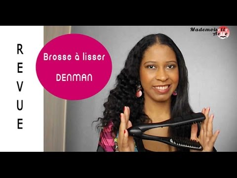 revue de la brosse lissante denman youtube. Black Bedroom Furniture Sets. Home Design Ideas