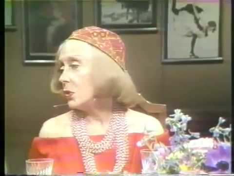 Gloria Swanson Show--Dick Gregory, William Dufty, 1977 TV
