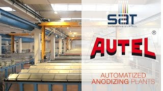 SAT | AUTEL - Automatized Anodizing Plants