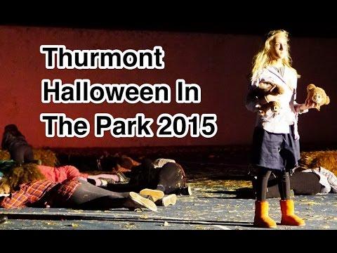 Thurmont Halloween In The Park 2015 in 4k UHD