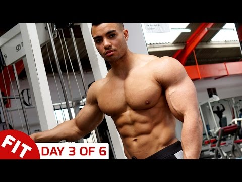 TRAIN SHOULDERS WITH JUSTIN ST PAUL - DAY 3 OF 6