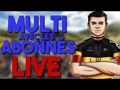 LIVE PRO CYCLING MANAGER 2018 ! MULTI AVEC TUTUR & LES ABONNÉS !!! !clan - LIVE PRO CYCLING MANAGER 2018 ! MULTI AVEC TUTUR & LES ABONNÉS !!! !clan
