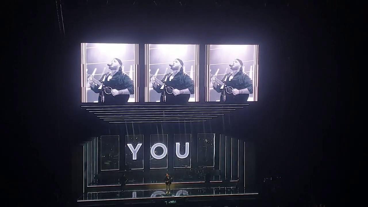 James Arthur - Say you won't let go (Live | Leeds)