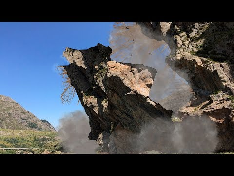 Caught on tape, Collapse and collapse of rocks