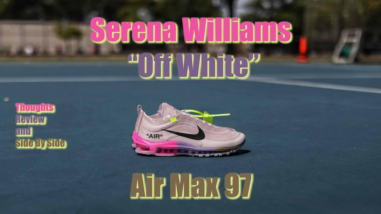 61cb12191d Serena Williams' Off-White x Air Max 97s - YouTube