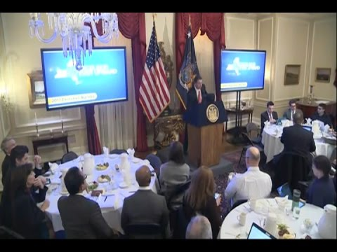 Governor Cuomo Delivers Budget Briefing for Fiscal Year 2018