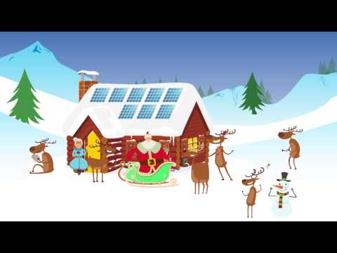 Santa loves Solar Energy - Merry Christmas from NPS!