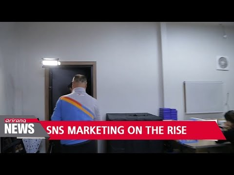 SNS marketing on the rise in South Korea