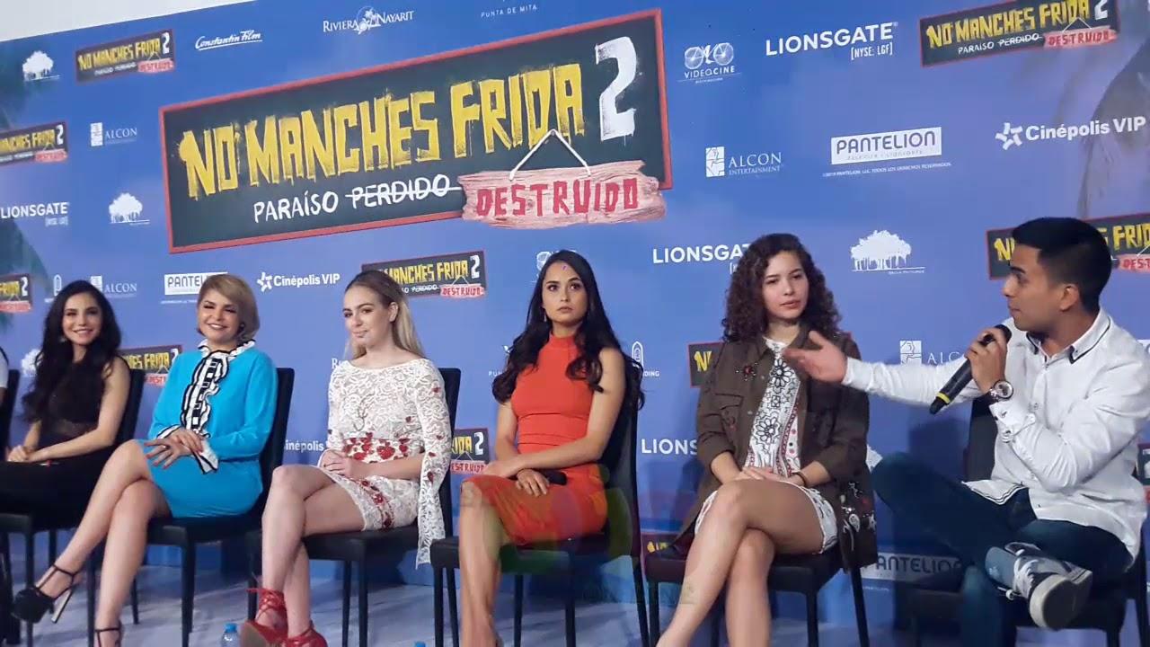 Ver No Manches Frida 2 (rueda de prensa) en Español